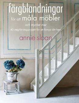 Annie Sloan böcker. Boken Färgblandningar på svenska.