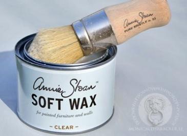 Annie Sloan Wax på möbler. Tips och råd för att vaxa möbler.