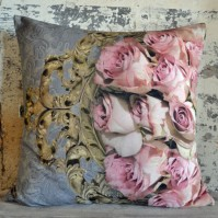 Kudde Rococo Roses