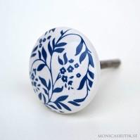 Knopp Blå Blomranka
