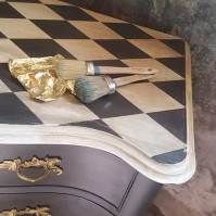 180929 Måla möbel - grundtekniker & vaxning