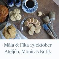 181013 Måla & Fika