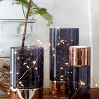 Ljuswire Glow, silver 30 ljus