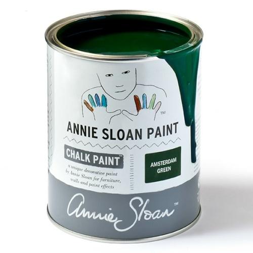 Amsterdam Green Annie Sloan Chalk Paint™ i Monicas Butik och webshop.