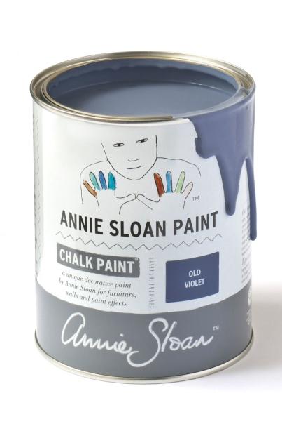 Annie Sloan Chalk Paint kulör Old Violet är en vacker blå.
