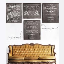 Dekortransfer från IOD för dina Chalk Paint målade möbler