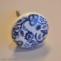 Knopp Blå blomma
