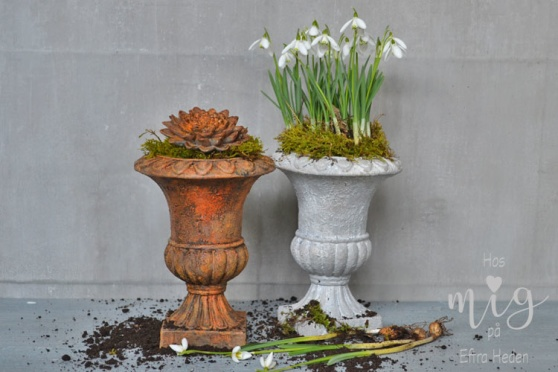 Annie Sloan Chalk Paint skapar enkelt effekter av rost eller ärgad koppar.