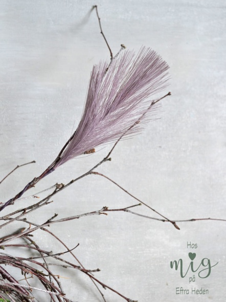 Syntetiska påskfjädrar, konstgjorda påskfjädrar i påskriset