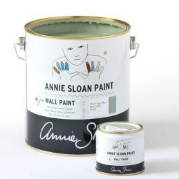 Annie Sloan Wall Paint väggfärg ger en matt och tålig yta med en lyxig känsla.
