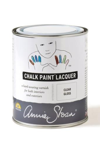 Annie Sloan Laquer Gloss. Lack med glans, utan att vara högblank