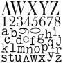 IOD Dekorstämpel Typesetting