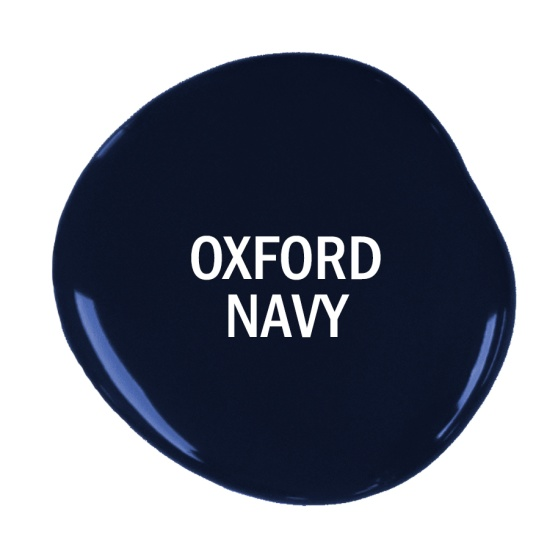 Oxford Navy marinblå Chalk Paint kalkfärg från Annie Sloan, ny kulör