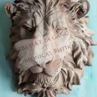 Skapa rost, ärgat & betong på lejonhuvud eller inredningsdetaljer