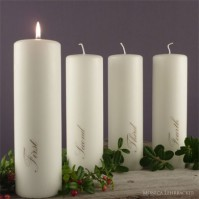 Ljus Advent, set 4 st