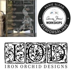 200125 Chalk Paint™ & IOD Dekorer på möbel - steg 1
