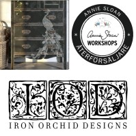 200215 Chalk Paint™ & IOD Dekorer på möbel - steg 2