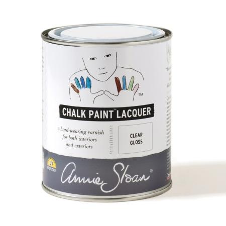 Chalk Paint Lacquer, lack för våtutrymmen, köksluckor, golv och trappor målade med Chalk Paint kalkfärg