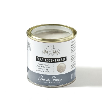 Pearlescent Glaze ny Annie Sloan produkt med skimrande pärlemorlyster