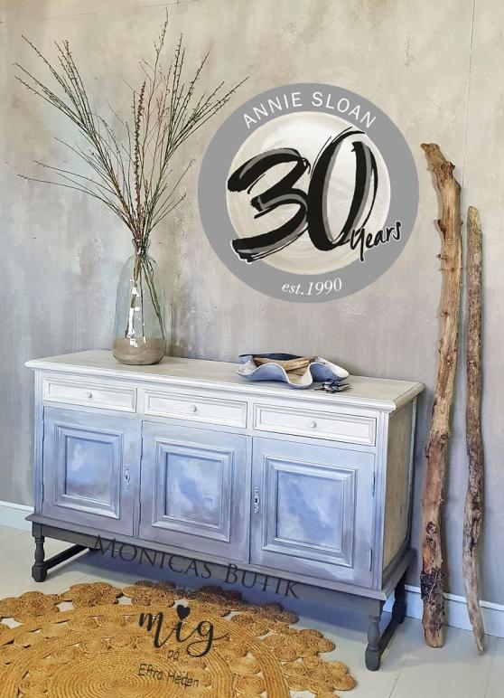 Pearlescent Glaze pärlemorlyster kan användas på möbler & inredningsdetaljer