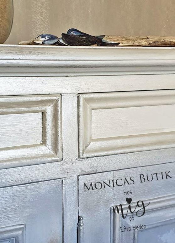 Pärlemoreffekt på möbler, inredningsdetaljer & allt i ditt hem.