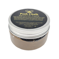 Posh Chalk Metallic Paste Reliefeffekt, Deep Gold