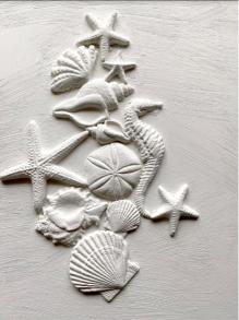 IOD Dekorform Seashells