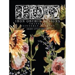 IOD Dekortransfer Painterly Florals