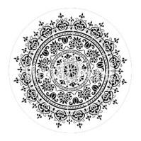 Posh Chalk Schablon Mandala - 40x40 cm