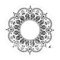 Posh Chalk Schablon Morocan Melody - 30x30 cm