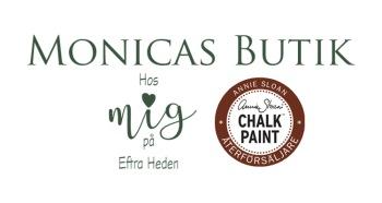 Monica Lehrbacker, inredare, färgexpert och återförsäljare av Annie Sloan Chalk Paint™