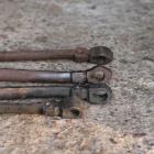 Kopior och originaler av vagnsdelar