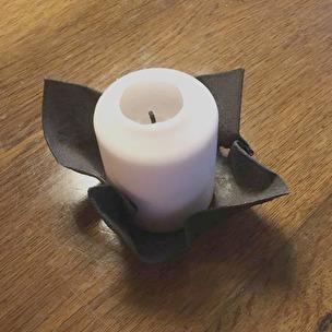 Ljusfat för blockljus