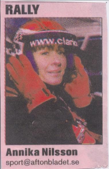 Bylinebild från min tid som motorsportjournalist på Aftonbladet/Sportbladet