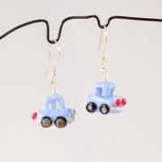 Örhängen Blå bilar