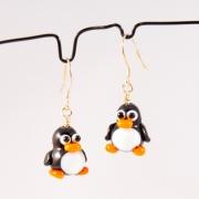 Örhängen Pingviner