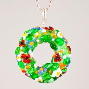 Blomsterkrans Halsband - Blomsterkrans Halsband