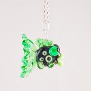 Fisk Grön & svart Halsband