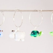 Kalas-glas-markörer djungeldjur