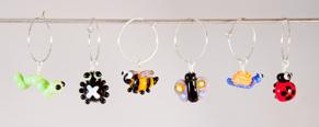 Kalas-glas-markörer smådjur - Glasmarkörer smådjur