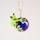 Groda på koboltblå transp kula IMG_4284
