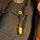 Sovsäck på scoutskjorta