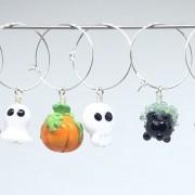 Kalas-glas-markörer Halloween