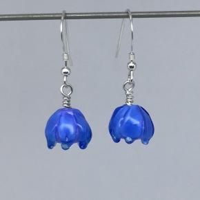 Blom-klockor blå - Blomklockor blå örh