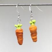 Morötter örhängen