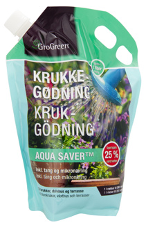 GROGREEN® krukgödning med aqua saver™ 7-1-7 - GROGREEN® krukgödning med aqua saver™ 7-1-7
