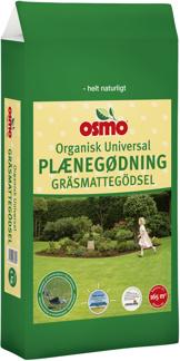 OSMO® organisk universal gräsmattegödsel 12-2-4 + 2 % MG - 5 kg