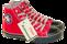 skor converse röd