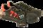 skor 777 röd, svart