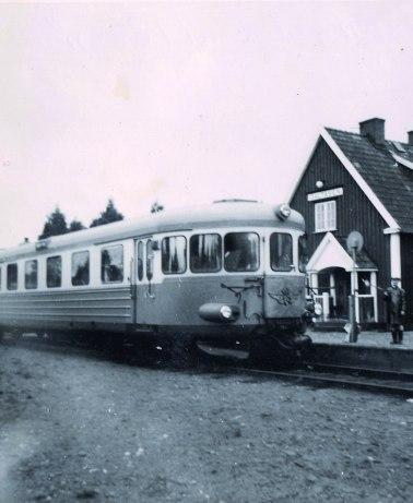Invånarantalet ökade med järnvägens tillkomst